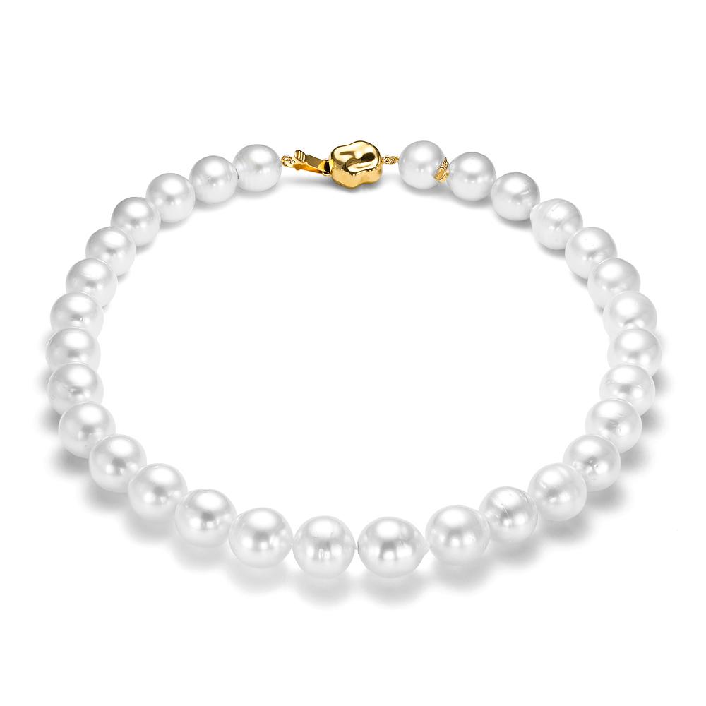 Ожерелье из белого морского Австралийского жемчуга 13-15,1 мм