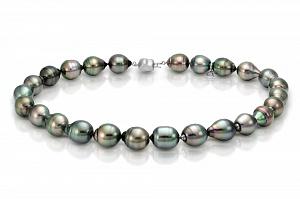 "Ожерелье ""микс"" из барочного морского Таитянского жемчуга 12-15 мм"