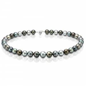 "Ожерелье ""микс"" из круглого морского Таитянского жемчуга 11-13,1 мм"