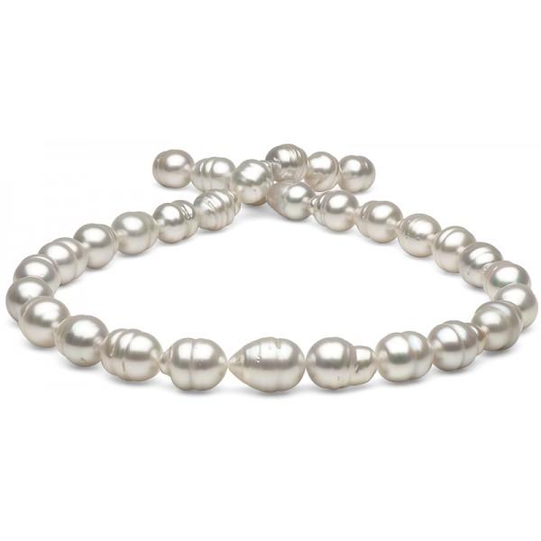 Ожерелье из белого барочного Австралийского жемчуга 11-13 мм