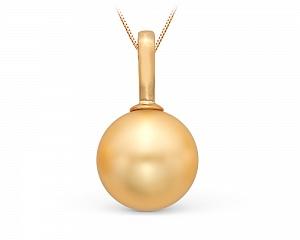 Подвеска из золота с Австралийской жемчужиной 12-12,5 мм