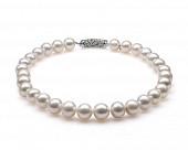 Ожерелье из 30 жемчужин из белого японского речного жемчуга. Жемчужины 12-15 мм