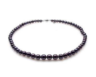 Ожерелье из черного морского жемчуга (Южный Китай). Жемчужины 5-9,5 мм