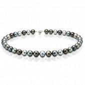 "Ожерелье ""микс"" из круглого морского Таитянского жемчуга 11,1-12,2 мм"