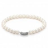 Ожерелье из 30 жемчужин из белого морского круглого жемчуга. Жемчужины 12,5-14,5 мм