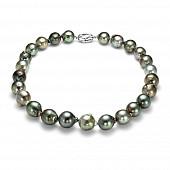 Ожерелье из морского барочного Таитянского жемчуга 12,2-14,9 мм