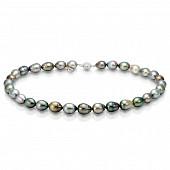"Ожерелье ""микс"" из барочного морского Таитянского жемчуга 11-13,9 мм"