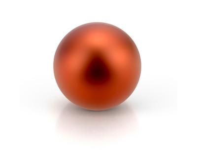 Жемчужина круглая шоколадная пресноводная 10-10,5 мм. Качество наивысшее