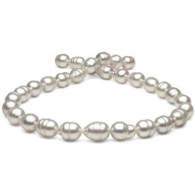 Ожерелье из белого барочного морского Австралийского жемчуга 12,1-14,5 мм